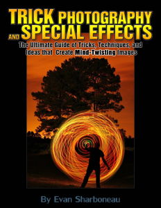 Trick Photography and Special Effects by Evan Sharboneau Book Cover