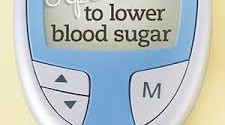 blood sugar 225x125 - How to lower blood sugar