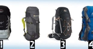 best hiking backpacks 310x165 - The Best Hiking Backpacks Reviews